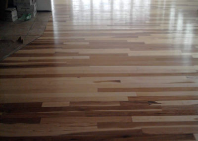 Prefinished Hickory wood